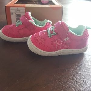 EUC Stride Rite Surprize pink infant shoes